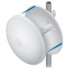 Описание Ubiquiti PowerBeam Radome Радиопрозрачный колпак из пластика позволяет существенно снизить ветровую нагрузку и защитить антенну от суровых погодных условий