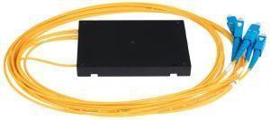 NIKOMAX NMF-SPP1X4A1-SCU-B - Сплиттер планарный 1x4, одномодовый 9/125мкм, стандарта G657.A1, SC/UPC, стандартный корпус, с равным коэффициентом деления, 2 мм купить в Казани Описание:Оптические планарные сплиттеры, так же известны как PLC (Planar Lightwave Circuit) делите