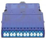 NIKOMAX NMF-CJ12S2PA-MTPM-LCU-1S - Кассета волоконно-оптическая, для панели серии CJ, 1 слот, одномодовая 9/125 мкм, стандарта OS2, 1x MTP/male - 12x LC/UPC, полярность А, премиум купить в Казани Описание:Кассетные модули предназначены исключительно для монтажа в кассетную панель NIKOMAX NMC-R
