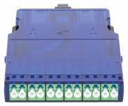 NIKOMAX NMF-CJ12S2PA-MTPM-LCA-1S - Кассета волоконно-оптическая, для панели серии CJ, 1 слот, одномодовая 9/125 мкм, стандарта OS2, 1x MTP/male - 12x LC/APC, поляризация А, премиум купить в Казани Описание:Кассетные модули предназначены исключительно для монтажа в кассетную панель NIKOMAX NMC-R