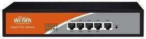 Wi-Tek WI-AC105P - Аппаратный контроллер  Централизованное управление 32 точками доступ 4  PoE портов 1000Base-T  + 1 порт 1000Base-T купить в Казани Wi-Tek WI-AС105P — это аппаратный контроллер, предназначенный для централизованной настройки и упра