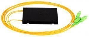 NIKOMAX NMF-SPP1X2A1-SCA-B - Сплиттер планарный 1x2, одномодовый 9/125мкм, стандарта G657.A1, SC/APC, стандартный корпус, с равным коэффициентом деления, 2мм купить в Казани Описание:Оптические планарные сплиттеры, так же известны как PLC (Planar Lightwave Circuit) делите