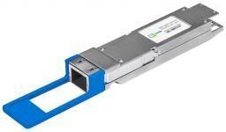 SNR-QSFP+LR4-10 - Двухволоконный модуль, QSFP+ 40GBASE-LR4, разъем LC, дальность до 10км (7dB) купить в Казани 40 гигабитный модуль с форм-фактором QSFP+, работающий по стандарту 40GBASE-LR4 и совместимый со ст