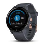 Garmin VIVOACTIVE 3 MUSIC синий гранит (010-01985-33) - Умные часы с встроенным GPS, пульсометром и бесконтактными платежами Garmin Pay, а также хранением и прослушиванием музыки