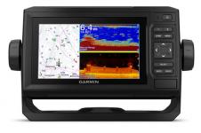"""Garmin ECHOMAP UHD 62CV (без датчика в комплекте) (010-02329-00) - Картплоттер с сенсорным экраном 6"""", обеспечивающим отличную читаемость даже при солнечном свете, включает быстросъемную монтажную скобу и трансдьюсер, который позволяет добавить функции сканирующего сонара с ультравысоким разрешением и традиционного сонара CHIRP. купить в Казани"""