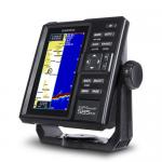 Garmin GPSMAP 585 PLUS с трансдьюсером GT20 (NR010-01711-00GT20) - Прибор GPSMAP 585 Plus содержит встроенный традиционный сонар CHIRP и возможности сканирования CHIRP ClearVu, что обеспечивает четкие изображения арок, обозначающих рыбу, и отличное разделение целей купить в Казани