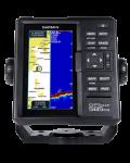 Garmin GPSMAP 585 PLUS без трансдьюсера (010-01711-00) - Прибор GPSMAP 585 Plus содержит встроенный традиционный сонар CHIRP и возможности сканирования CHIRP ClearVu, что обеспечивает четкие изображения арок, обозначающих рыбу, и отличное разделение целей. купить в Казани