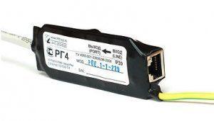 Описание Info-Sys РГ4-PoEГрозозащита РГ4-PoE от компании InfoSys служит для защиты сетевого оборудованияEthernet 10/100Base-TX, поддерживающеего технологию PoE (High Power Over Ethernet IEEE 802