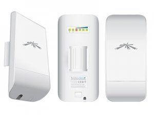 Описание Ubiquiti NanoStation Loco M2 Идеальное решение для тех, кто хочет пользоваться Wi-Fi дома или на даче. Применение технологий MIMO 2х2 и AirMax позволяет устройству достичь реальную пропускную способность 150 Мбит/с при максимальной дальности линка до 2 километров