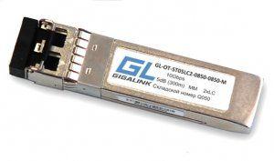 GIGALINK GL-OT-ST05LC2-0850-0850-M - SFP+модуль , 10Гбит/с, два волокна, ММ, 2хLC, 850 нм, 5 дБ (до 300 м) (GL-P03MM)