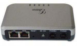HandyTone 502 – мощный VoIP маршрутизатор. Встроенный высокопроизводительный NAT маршрутизатор и 10/100 Мб\с Ethernet порты WAN и LAN, которые дают общее широкополосное соединение между несколькими устройствами Ethernet