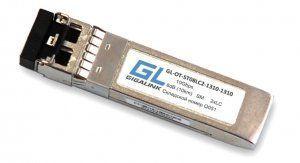 GIGALINK GL-OT-ST08LC2-1310-1310 - SFP+модуль, 10Гбит/с, два волокна, SM, 2хLC, 1310 нм, 8 дБ (до 10 км) (GL-P10)
