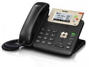 Yealink SIP-T23G - IP-телефон, 3 линии, BLF, PoE, GigE