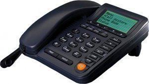IP-телефон GIGALINK GL-VP-140P с LCD экраном, 2 порта LAN (WAN), SIP, POE