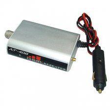 Описание GSM-усилитель AnyTone AT-408 предназначен для установки в автомобиль и обеспечения работы сотовой связи диапазона 890-915 / 935-960 МГц в местах со слабым уровнем сигнала или вовсе при его отсутствии