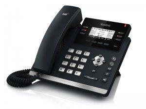 Yealink SIP-T42G - IP-телефон, 3 линии, BLF, PoE, GigE, БЕЗ БП