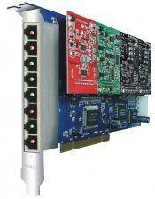 Интерфейсная плата Yeastar TDM800 PCI, 8 портов RJ11 в Казани