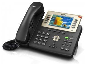 Yealink SIP-T29G - IP-телефон, цветной экран, 16 аккаунтов, BLF, PoE, GigE
