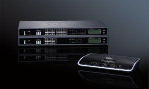 Grandstream UCM6116 - IP-АТС, 16*FXO, 2*FXS, 1*GLAN, PoE+