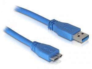 Стандарт USB 3.0 Назначение - для внешних USB 3.0 HDD Поддерживаемая скорость до 5 Gbps Длина - 1,8метра Разьемы: USB 3.0 Standard-A male USB 3.0 Micro-B