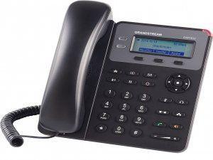 GXP1610 это простой в использовании IP-телефон для малых и средних предприятий или домашних офисов. Имеет один SIP-аккаунт, до 2-х линий с индикацией входящего вызова и 3 XML-программируемые контекстозависимые клавиши