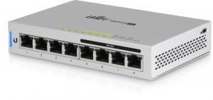 Ubiquiti UniFi Switch 8-60W (US-8-60W) - PoE-коммутатор управляемый, 4*PoE (802.3af) порта 1000Мб/с, 4*порта 1000Мб/с, 60Вт