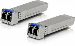 Ubiquiti FiberModule UF-SM-10G - пара трансиверов SFP+, Single Mode, LC, 10 км