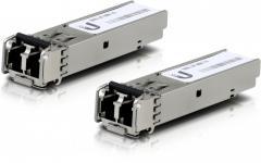 Ubiquiti FiberModule UF-MM-1G - пара трансиверов SFP, Multi Mode, LC, 550 м