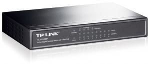 Описание TP-Link TL-SG1008P 8-портовый настольный коммутатор с 4 портами PoE обеспечивает простое подключение устройств к вашей сети и поддерживает стандарты Ethernet и Fast Ethernet, позволяющие осуществлять передачу данных на скоростях 10/100 Мбит/с и 1000 Мбит/с соответственно