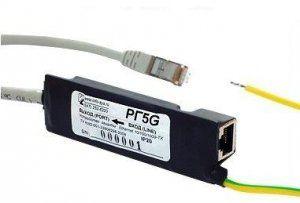 Описание Info-Sys РГ5GГрозозащита РГ5G марки InfoSys предназначена для защиты сетевого оборудования Ethernet 10/100/1000 Base-TX, от опасных напряжений, возникающих в результате атмосферных разрядов (грозы) и индустриальных помех