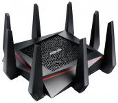 ASUS RT-AC5300 - маршрутизатор с WiFi, Tri-band Gigabit Router (RTL) (4*UTP 10/100/1000Mbps, 1*WAN, 802.11a /b/g/n/ac, USB2.0/3.0)