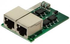 ГрозозащитаNag-APC-POE - Классический Клон APC с защитой всех четырех пар UTP – кабеля для 10/100 BASE и 1000 BASE (GBIC) портов. Исполнение – модуль в шасси 19`` на 24 порта PRM24 (APC)