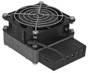 Тепловентилятор применяются для предотвращения образования конденсата и перехода нижнего предельного уровня температуры.