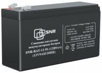 SNR-BAT-12-9S - аккумуляторная батарея, AGM, 9Ач, 12В