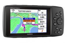 Универсальный защищенный кнопочный GPS-навигатор Внутренняя антенна для приема спутниковых сигналов GPS и ГЛОНАСС обеспечивает более быстрый расчет местоположения даже в сложных условиях по сравнению с использованием одной системы GPS