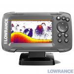 Lowrance HOOK2-4x Bullet GPS (000-14015-001) - Эхолот c GPS, датчиком Bullet (200 кГц) с диагональю экрана 4 дюйма. Яркий цветной дисплей Solar Max. В комплекте датчик 200 кГц