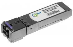 SNR-SFP-W43-GPON-B+ - Одноволоконный модуль, SFP WDM GPON, Down/Upstream: 2.5G/1.25G, разъем SC, рабочая длина волны Tx/Rx: 1490/1310нм, дальность до 20км (28dB).