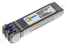 SNR-SFP+LR-10 - Двухволоконный модуль, SFP+ 10GBASE-LR/LW, разъем LC duplex, рабочая длина волны 1310нм, дальность до 10км (11dB).