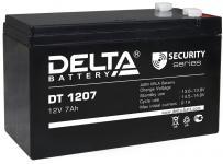 Delta DT 1207 - Аккумуляторная батарея, AGM, 7Ач, 12В