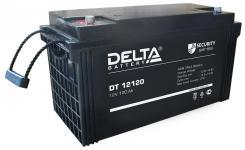 Delta DT 12120 - Аккумуляторная батарея, AGM, 120Ач, 12В