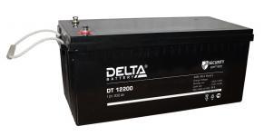 Delta DT 12200 - Аккумуляторная батарея, AGM, 200Ач, 12В