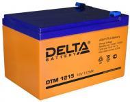 Delta DTM 1215 - Аккумуляторная батарея, AGM, 15Ач, 12В