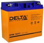 Delta DTM 1217 - Аккумуляторная батарея, AGM, 17Ач, 12В