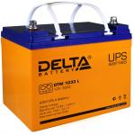 Delta DTM 1233 L - Аккумуляторная батарея, AGM, 33Ач, 12В