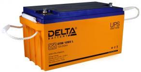 Delta DTM 1265 L - Аккумуляторная батарея, AGM, 65Ач, 12В