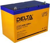 Delta DTM 1290 L - Аккумуляторная батарея, AGM, 90Ач, 12В