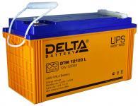 Delta DTM 12120 L - Аккумуляторная батарея, AGM, 120Ач, 12В