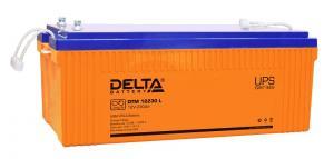 Delta DTM 12230 L - Аккумуляторная батарея, AGM, 230Ач, 12В