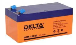 Delta DTM 12032 - Аккумуляторная батарея, AGM, 3.2Ач, 12В