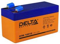 Delta DTM 12012 - Аккумуляторная батарея, AGM, 1.2Ач, 12В